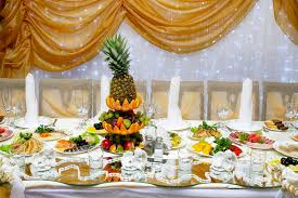 food tables at wedding reception wedding reception table with food stock photo image of four cloth