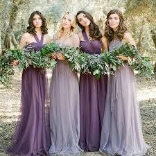 purple dress bridesmaid convertible bridesmaid dress bridesmaid dress chiffon