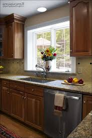 kitchen cherry kitchen kitchen wall colors with dark cabinets