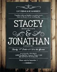 eat drink and be married invitations eat drink and be married wedding invitations niengrangho info