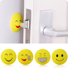 compare prices on rubber wall bumpers online shopping buy low 3d wall stickers rubber door handle knob emoji crash pad wall protector self adhesive bumper stickers