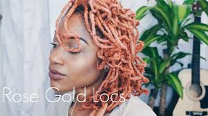 gold hair gold hair color on locs