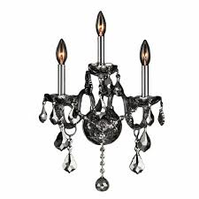 Joselyn Wall Sconce Chrome Wall Sconces For Candles Midcentury Retro Wall Sconce