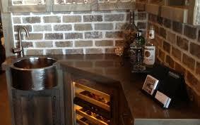 bar kitchen stunning rustic wet bar kitchen decors with corner