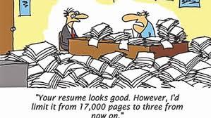 cv vs cv cv vs résumé the daily