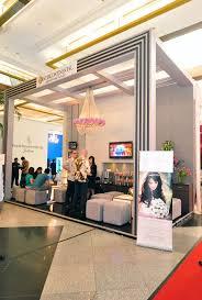 brede allied custom booths 16 best wedding exhibition images on jakarta