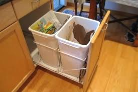 Under Cabinet Pull Out Trash Can Under Cabinet Trash Can Pull Out U2013 Seasparrows Co