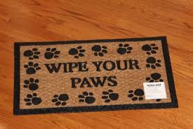 Rubber Cal Inc Wipe Your Doormats Wipe Your Paws Low Clearance Door Mat Natural Coir And