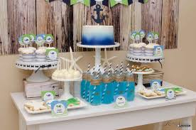 the sea party ideas kara s party ideas nautical the sea birthday party kara s