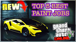 top 5 best paint jobs of the new pagassi tempesta gta 5