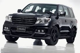 toyota cruiser price wald 200 land cruiser sports line black bison edition news