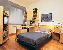 Boy Bedroom Furniture by Wonderful Green Wall Painting With Rustic Wooden Bedroom Furniture