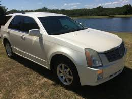 cadillac srx pearl white find used 2007 cadillac srx 3rd row seating pearl white in alvord