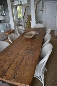 reclaimed wood dining room table stunning home targovci com