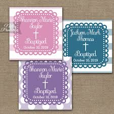 baptism favor tags blue purple or pink baptism favor tags loopy nifty printables