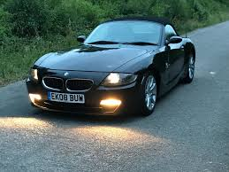 bmw z4 2008 2008 bmw z4 2 0i exclusive black 150 bhp in keyworth
