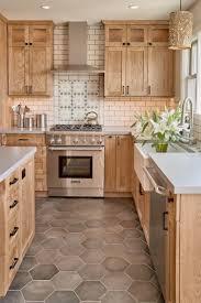 light wood tone kitchen cabinets modern craftsman style kitchen the wood tone