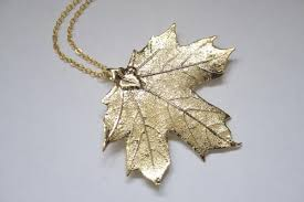 real leaf necklace images Real leaf necklaces dipped in gold silver and iridescent copper jpg