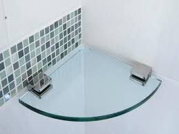 Glass Bathroom Corner Shelves Smart Glass Corner Shelves Bathroom Corner Glass Shelf Corner