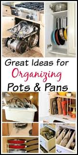 Organizing Pots And Pans In Kitchen Cabinets Organizing Your Pots And Pans Jamonkey Atlanta
