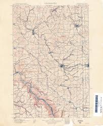 Map Of Idaho And Washington by