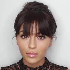 clip on bangs hepburn esque hair using bellami hair cleopatra clip in