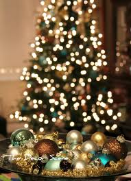 bokeh effect with your tree lights