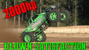monster trucks in mud videos blown satisfaction is one badass 2000hp mega mud truck