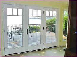 Hinged French Patio Doors Doors Amusing Exterior Patio Doors Patio Doors With Blinds