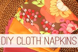 how to make fancy table napkins go green or get fancy with diy cloth napkins life your way
