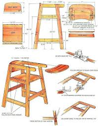 innovative wooden doll high chair plans and ana white doll high