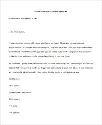 sample thank you for your business letter efficiencyexperts us
