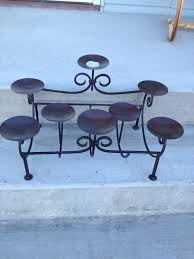 decorating awesome 9 candle metal fireplace candelabra candle