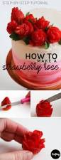 how to make a strawberry rose with a few simple cuts strawberry