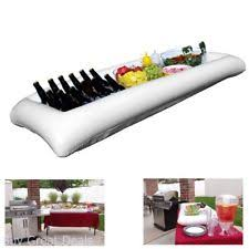 table top cooler for food large white inflatable serving bar buffet cooler with drain plug
