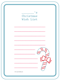 printable child u0027s christmas list project project