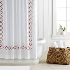 moroccan gate shower curtain williams sonoma