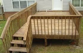 Decking Kits With Handrails Wood Deck Restoration Products U2013 Building An Outdoors Deck Check