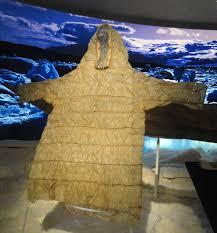 file child u0027s seal gut parka early 1900s inuit alaska houston