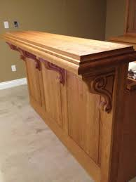 Kitchen Cabinet Corbels Cherry Corbels A Perfect Accent For Bar Project Osborne Wood Videos