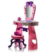 Vanity Playset Dream Dresser Vanity Set With Stool Nail Polish Bottles Lipstick