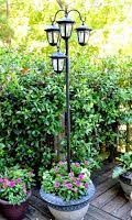 How To Make A Solar Light - solar powered lamp post garden lights outdoor lamp post china