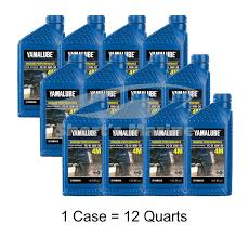 amazon com yamaha 4 stroke engine oil case of 12 quarts automotive