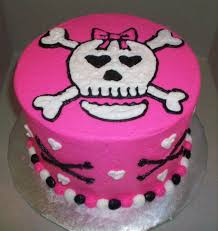 girly skull cake cakes cake happy birthday cakes