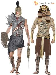 spartacus halloween costume mens ancient egypt zombie pharaoh gladiator halloween fancy