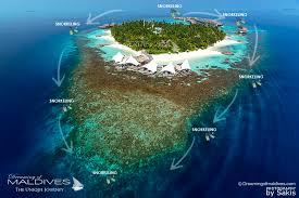 maldives map w maldives island snorkeling house reef aerial view jpg