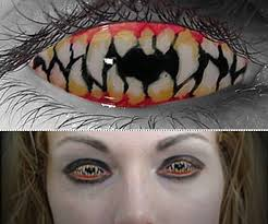 halloween contact lenses dudeiwantthat com