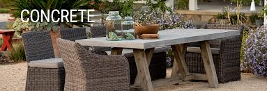 concrete and wood outdoor table light concrete patio furniture outdoor tables benches more