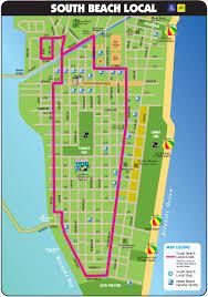 Map Of Miami Florida South Beach Tourist Map Miami Beach Florida U2022 Mappery