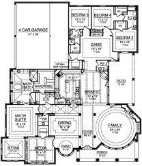 Four Car Garage House Plans by Gray Ridge Ranch Floor Plans Luxury Floor Plans